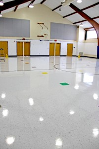 Gym of Cormier School & Early Learning Center in Green Bay, Wis., H.J. Martin and Son