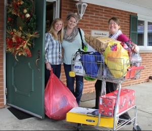 The gifts arrive at House of Hope
