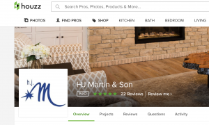 Houzz profile, H.J. Martin and Son