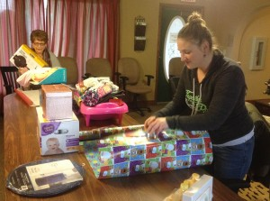Wrapping of the gifts