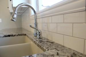 new tiled kitchen backsplash, H.J. Martin and Son