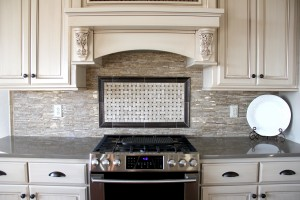 new tiled kitchen backsplash, H.J. Martin and Son