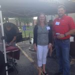 Karen Siegrist and Project Manager Bob Gmeiner, H.J. Martin and Son