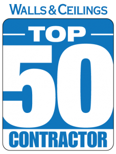 Walls and Ceilings Top 50 Contractor