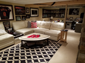 Entertainment room after, H.J. Martin and Son