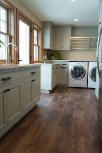 Laundry room after, H.J. Martin and Son