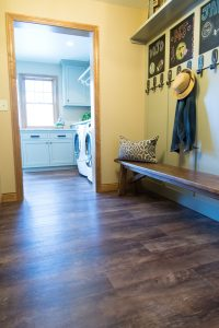 New mud room, H.J. Martin and Son