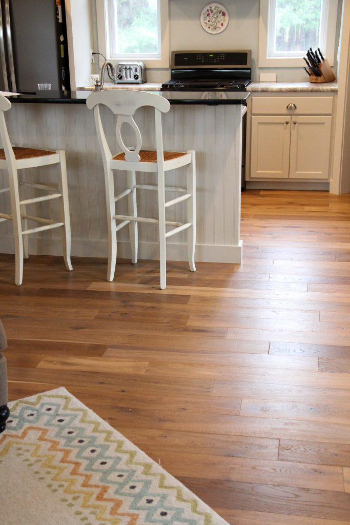 Hardwood kitchen flooring, H.J. Martin and Son