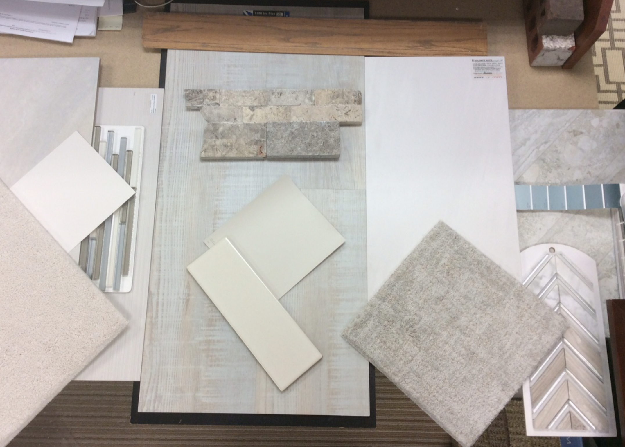 Swatches and samples for inspiration, H.J. Martin and Son