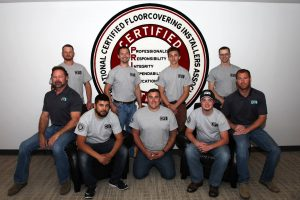Installers graduate from a five-week Certified Floorcovering Installers (CFI) Residential Carpet Installation Course.