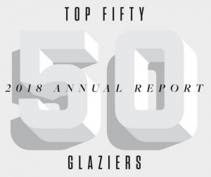 Top Fifty Glaziers 2018 Annual Report, H.J. Martin and Son